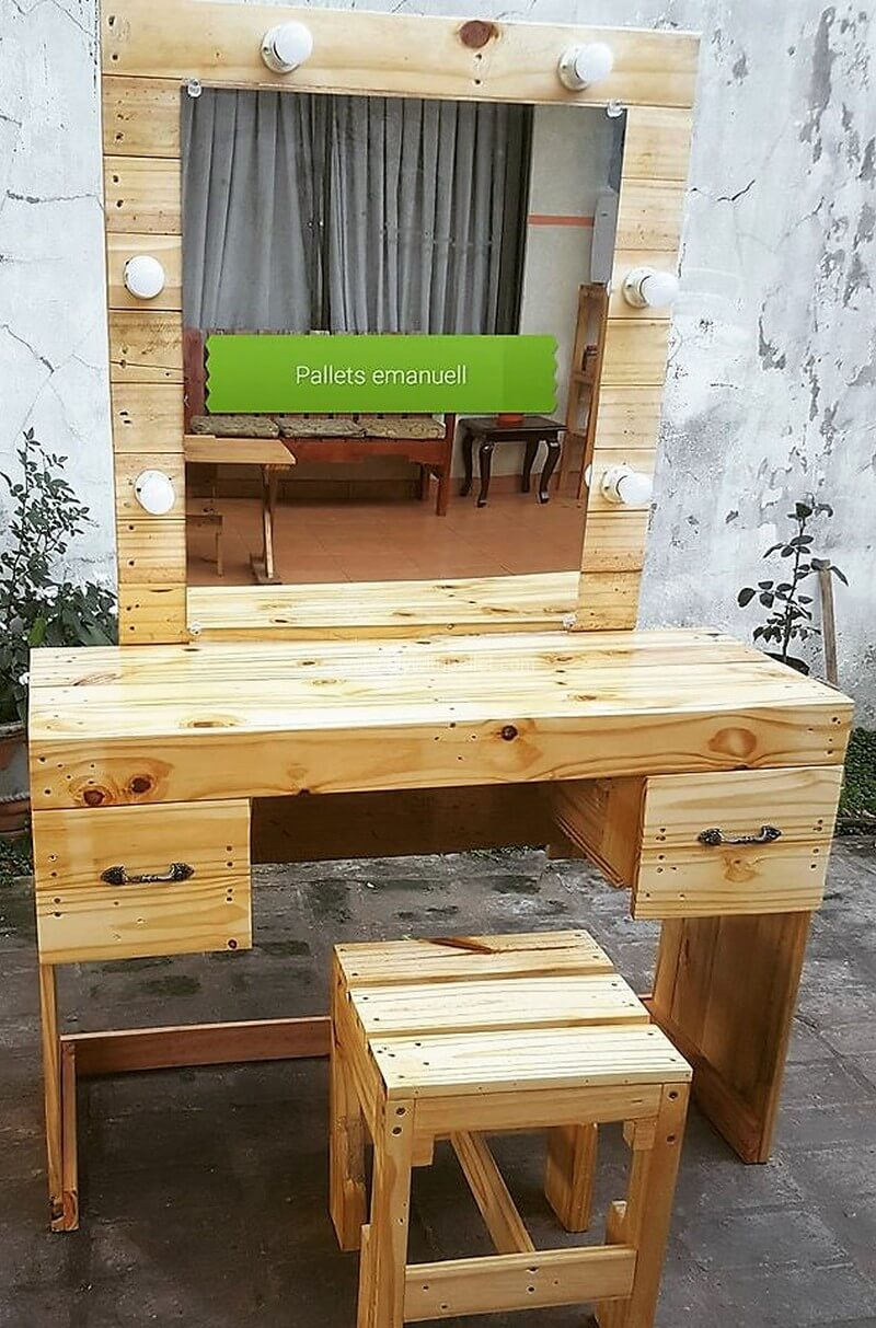 Creative Diy With Pallets Ideas Wood Pallet Creations